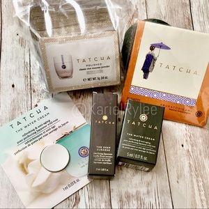 Tatcha Bundle Water Cream Rice Powder Beauty Paper